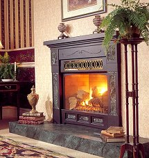 Serenity with Victorian Mantel